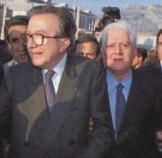 Giulio Andreotti e Salvo Lima (Foto: Sintesi)