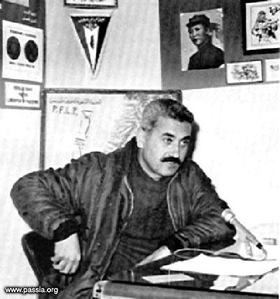 George Habbash, leader del Fronte Popolare per la Liberazione della Palestina