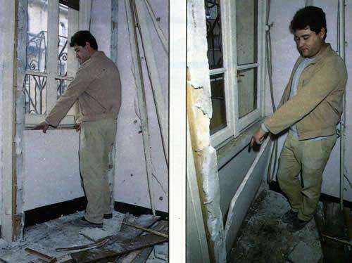 Il muratore Gennaro Bernardo - più abile dei carabinieri - che ha scoperto il nascondiglio che custodiva le carte di Moro
