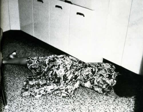 Così, nella cucina del suo appartamento di via Monaci a Roma, venne trovato la mattina dell'11 settembre 1958 il corpo senza vita di Maria Martirano (Publifoto)