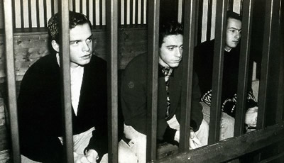 Carbognin, Maso e cavazza durante un'udienza del processo - Foto:Archivio RCS, Marchiori