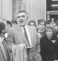 Vincenzo Muccioli,  fondatore della comunità di San Patrignano, scomparso nel 1995
