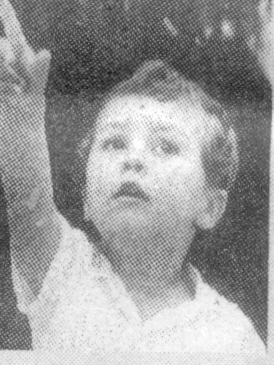 Simone Allegretti, 4 anni