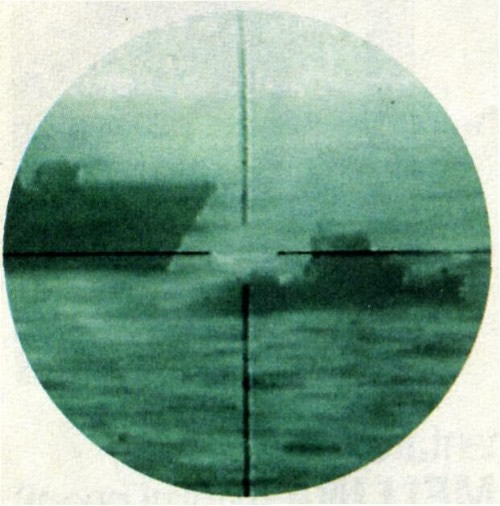 Lo speronamento della Sibilla ai danni della Kater I rades visto all'infrarosso