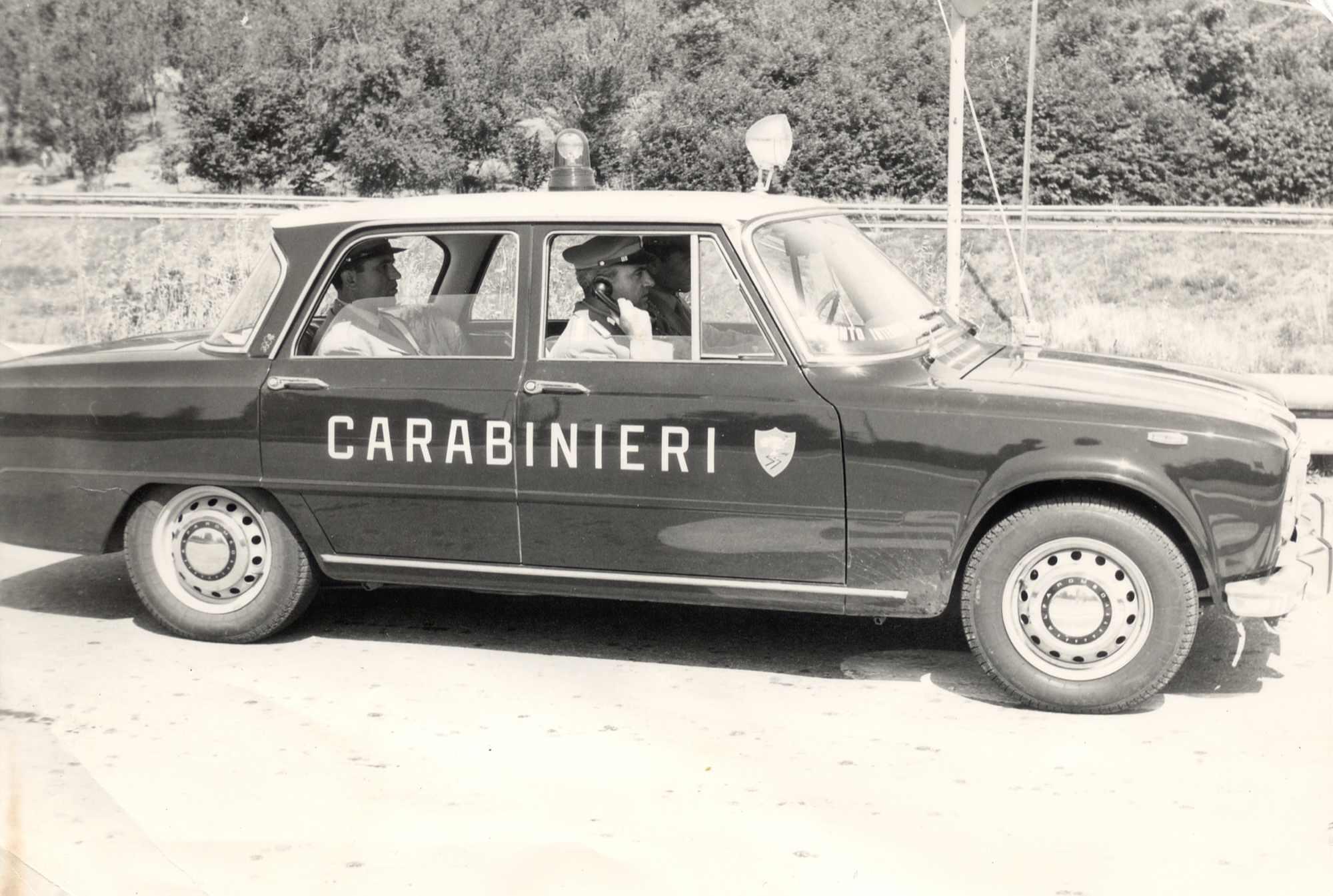 carabinieri anni 60