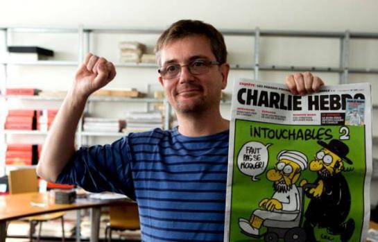 Stéphane Charbonnier, in arte Charb, direttore di Charlie Hebdo