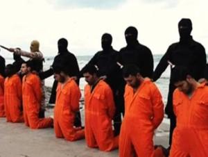 Barbarie: Prigionieri dello Stato islamico in procinto di essere sgozzati