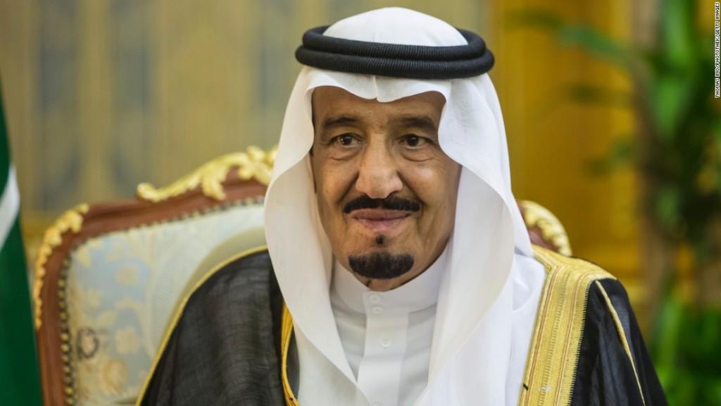 Il re dell'Arabia Saudita Salman bin Abdul Aziz Al Saud